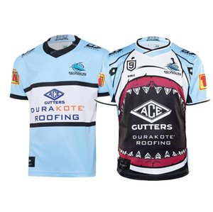 CRONULLA SHARKS 2020 Home And Nines RUGBY JERSEY Size: S-3XL--5XL Print custom name number