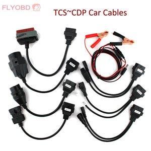 20pin kablo mb 38pin Bağlayıcı için bağlantı TCS PRO Car Araç Teşhis kabloları OBD2 OBDII TCS kabloları tam set kablo
