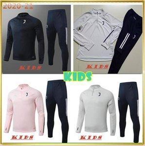 2019 20 enfants JuvENTUS veste de football survêtement 2019 2020 enfant RONALDO DYBALA MANDZUKIC maillots de football enfant uniforme sweat