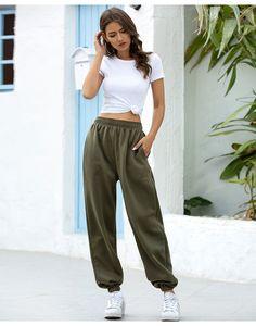 سروال 20S أزياء المرأة الرياضة للشتاء والصيف عارضة الصلبة سروال اللون المسار فضفاض نمط المرأة مصمم السراويل الحجم S-2XL