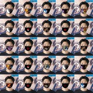 Sai Naruto Cubrebocas Designer Tapabocas Reusable Face Mask For Kids Cartoon Face Mask 07 Sai Naruto e2008 TwkDX