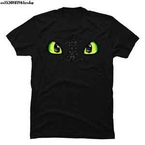 Toothless Eyes Tshirts How To Train Your Dragon 3D Printed T-Shirt Stitch Round Neck Sweatshirts Funny T Shirt Man P37