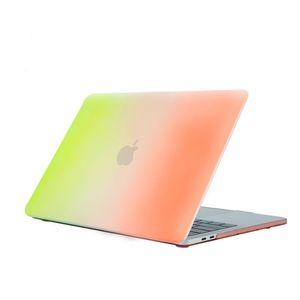 맥북 에어에 대한 케이스 (11) (12) 13 인치의 경우 무지개 패턴 하드 플라스틱 전신 노트북 케이스 쉘 커버를 들어 맥북 프로 레티 나 15.4 A1398 프로