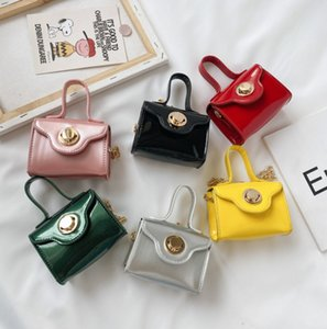 Fashion new children handbags girls mini chain one-shoulder bags kids princess Messenger bags A3477
