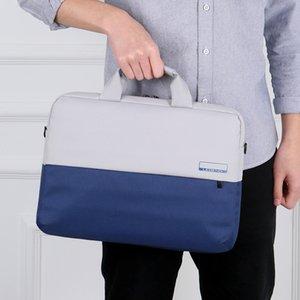Hommes Femmes Sacs Porte-documents Oxford Portable Laptop tissu d'affaires Sacs Inner Voyage ordinateur portable 15,6 pouces épaule Messenger Sacs