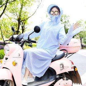roupas zLMvy motocicleta elétrica solar longo de eléctrico bateria de carro ciclismo protetor solar corpo inteiro equipamento fêmea bic chapéu artefato Motorcycle