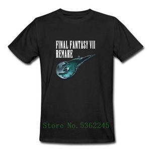 파이널 판타지 VII (7) 리메이크 클라우드 투쟁 티파 록 하트 비디오 게임 T 셔츠 캐주얼 쿨 프라이드 T 셔츠 남성 패션 남여 티셔츠