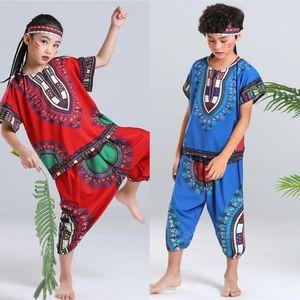 African Clothing For Adult Children Dashiki Boy Girl Family African Dresses For Women Men Set Plus Robe Africaine 100-180CM