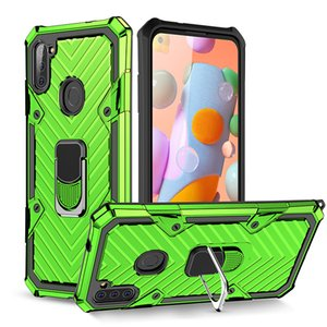 For A11 A21S Ring Kickstand S20 Magnetic Plus A01 Samsung A21 A31 A71 A41 A51 Galaxy A81 Defender Ultra A91 Case Note 20 Cover Fsowt