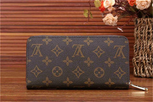 hot Sale Paris plaid style Designers mens wallet famous men luxury purse special canvas multiple short small bifold wallet no box 0012