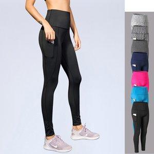 Йога Леггинсы высокой талией Брюки женские колготки тренировки Антицеллюлитный тренировочные брюки Gym Wear высокой талией Плюс Размер Спорт Legins