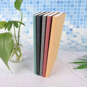1Pc Grid Notebook Graph Paper Notepad 5mm Simple Grid Sketch Notebooks Student Office Supplies colors X7kT#
