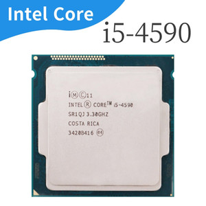 Intel Core i5 4590 I5-4590 LGA 1150 22nanometers 3.3GHz de doble núcleo funcionando correctamente procesador de escritorio 100%