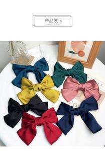 IN 7 Farbe Haar-Zusätze Nettes Fest Farbe Bogen Hairpin Mädchen hairbands Haarspangen