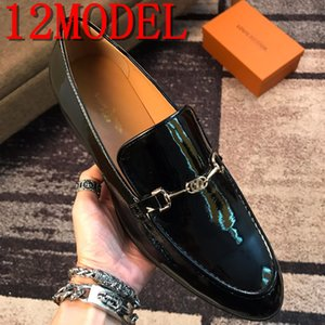 Loafers Men Dress Shoes Classic Men Shoes Leather Italian Coiffeur Formal Shoes Men Office luxurious Brands Chaussure Homme Ayakkabi 38-45