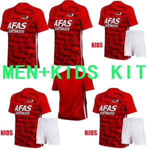 menkids 20-21 AZ Alkmaar Hauptfußballjersey-2021 DE WIT Stengs Boadu Fußballhemd AZ Alkmaar camiseta de fútbol maillot de foot camisa