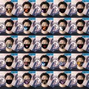Naruto Oc cubrebocas diseñador de la máscara tapabocas reutilizable para rostro bebé de la historieta de la máscara 01 naruto Oc zhjoutdoorsport aUKpy