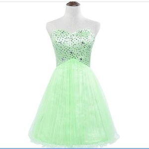 100% Real Image Sparkly Homecoming Dresses Sleeveless Party Prom Gowns Graduation Cocktail 2020 Occasion Dresses IN STOCK Dress Cheap SD034