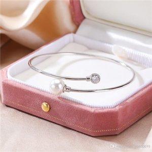 S925 Sterling Silver Pearl Line Bracelet Korean version chic temperament very simple fashion bracelet female personality factory direct sale