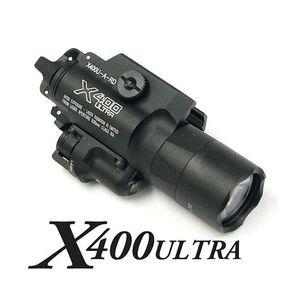 Tactique CNC Faire la lumière X400U lumière blanche avec laser rouge SF X400 Pistolet Ultra LED Fusil
