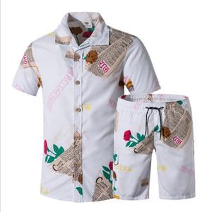 Board Shorts Surf Shirts New Men Rua Sets Wear exercício dos homens masculinos de verão Beach Impressão Floral desgaste da natação Shorts