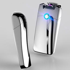 Potente Accendino USB elettronica ricaricabile accendisigari Picc Plasma Arc Palse Thunder Lighter Pulse personalizzato per gli uomini regalo