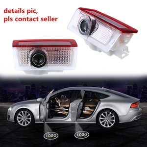 Auto Car Door Light Ghost Shadow Welcome Laser Projector Lights LED Car Door Logo For Benz A B ML GL Auto Accessories DHL