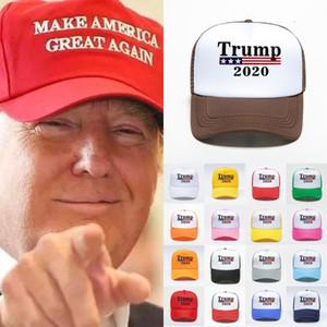 Donal Trump 2020 letra impressa tornar a América Great Again snapbacks Trump Eleição Cap Outdoor Sports Casual Caps 17 cores