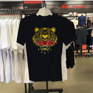 roupas Curvo Hem longa linha de T camisa dos homens Kenzo Ocidental T-shirt dos homens cobre T Hip Hop Urban camisas em branco Versace Designer