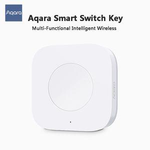 Xiaomiyoupin Mijia Aqara intelligente multi-fonctionnelle clé intelligente du commutateur sans fil intégré travail Fonction Avec Android APP 3001774-B1