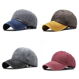 2020 Baseball Cap With Spiked Fake Hair Wig Red Color Adjustable Sun Visor Hat Hip Hop Streetwear Gift#233