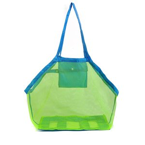 Applied Enduring Children sand away beach mesh bag Children Beach Toys Clothes Towel Bag baby toy collection nappy WA2543