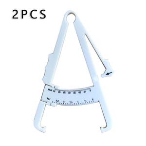 피하 지방 체지방 캘리퍼스 17 * 11cm 체지방 캘리퍼스 피부 분석기 측정