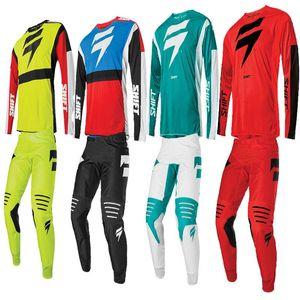 DESLOCAMENTO 2020 Motocross Gear Set Top Motocicleta Off Road Jersey Set Moto Suit