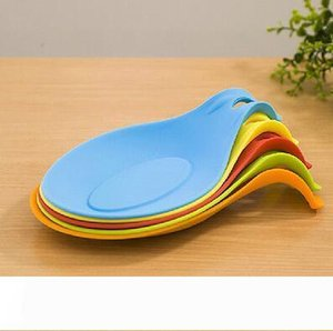 Spoon Mat Silicone Mat Insulation Placemat Heat Resistant Put A Spoon Accessories Kitchen Tools Multi color