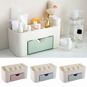1PC Practical Women Plastic Makeup Case Cosmetic Lipstick Perfume Holder Organizer Box T200301