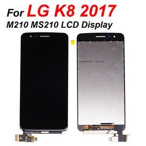 Для LG K8 2017 M210 MS210 ЖК-экран дигитайзер прикосновением сборки