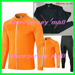 Top quality New 20 21 manchester Soccer training suit men MARTIAL RASHFORD football zipper jacket sportswear foot jogging 2020 2021 POGBA T