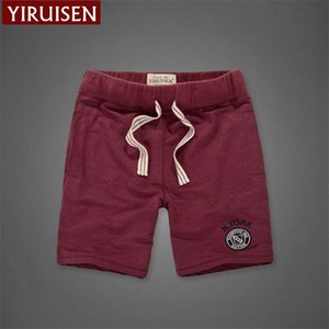 Wholesale YIRUISEN Brand Clothing 100% Cotton Shorts Men Summer Casual Soft Short Pants For Men Boardshorts Bermuda Masculina