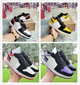 Hot Sell 1s OG Skateboard Sports Shoes For Men Women Low Cut Leather Casual Flat Shoes Outdoor 1s Dunk Shoes Brand Sneakers 36-44