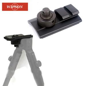 양각대 위버 레일 슬링 스터드 회전 피카 티니 슬롯 어댑터 20mm 양각대 어댑터를 촬영 WIPSON 전술 에어건 소총 사냥