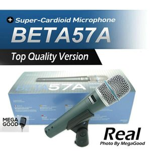 Verkauf hochwertige Version BETA57 Professionelle BETA57A Supercardioid Hand Dynamische Wired Mikrofon Beta 57 A Mic