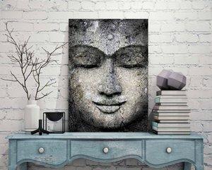 IMPRESSIONANTE RESUMO BUDDHA Home Decor pintado à mão HD Pinturas Imprimir óleo sobre tela Wall Art Pintura 200727