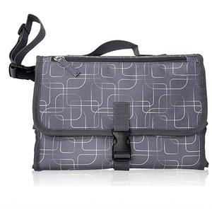 Travel portable folding multifunctional baby waterproof diaper pad outdoor baby replacement diaper bag