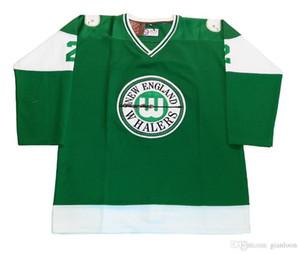 benutzerdefinierte Hockey-Jersey-Größe XXS S-XXXL 4XL XXXXL 5XL 6XL New England Whalers Customized Hockey Jersey WHA Hartford Whalers 1972-1973