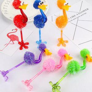 Lustiger Strauß Kugelschreiber Studenten Briefpapier kreative Karikatur Spielzeug Pens Büro Schüler Promotion Geschenke LX2403