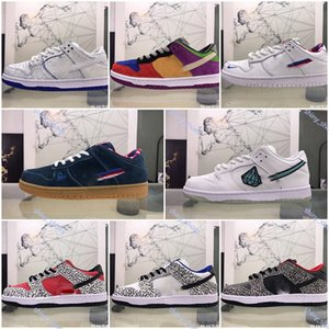 xshfbcl fashion Sb Dunk low Skate Shoe Men Women Platform Sneakers Sports CLOT Pale Ivory Noise Under Construction Men Sneakers Casual 36-45