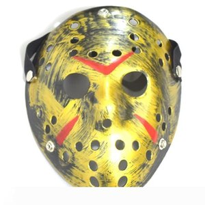 2020 Archaistic Jason Mask Full Face Antique Killer Mask Jason vs Friday The 13th Prop Horror Hockey Halloween Costume Cosplay Mask in stock