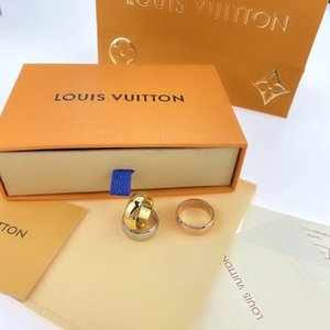 LOUISVUITTON Designer Ringe Liebe für Frauen 925 Gold Diamant-Silber für Männer Sterling Verlobungsringe Designer Ring B1