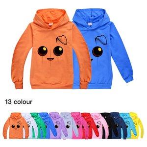 13 cores de Fortnite Crianças pulôver com capuz manga comprida camisola-Boys Hoodie Hoodie 510 do bebê caçoa a roupa com capuz